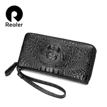 REALER New Women Wallets artificial leather High Quality Designer Brand Wallet Lady Fashion Clutch Casual Women Purses