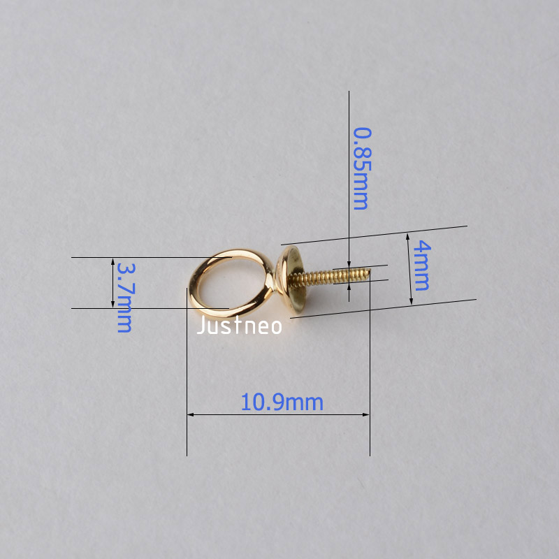 18k gold Pendant Connector 1 (5)