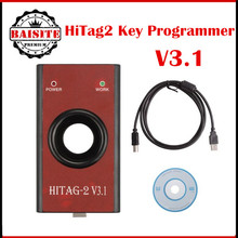 2016 NEW HiTag2 V3.1 Programmer (Red) For BMW (CAS1/2/3/3 +) ad hitag2 universal keys programmer for bmw Key Programming Tool(China)