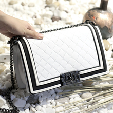 Buy Fashion Women Messenge Bags High Leather Shoulder Bags Crossbody Ladies Handbag Female Clutch Purse New Flap Bags Sac for $39.58 in AliExpress store