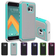 Cool Covers For HTC 10 Lifestyle / HTC One M10 5.2 Inch Phone Funda Plastic PC + Silicone Dual Cases Carcasa Capa For HTC 10