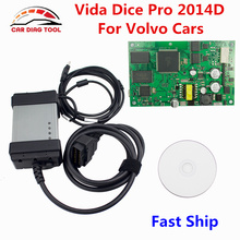 2017 Newest Full Chip For Volvo Vida Dice 2014D Car Diagnostic Tool Interface Vida Dice Pro Multi-Languages For Volvo Dice Pro(China)