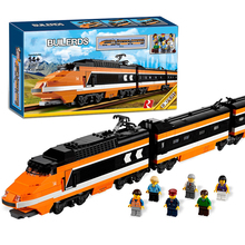 Lepin 21007 Horizon Express Train Building Bricks Blocks New year Gift Toys for Children Boy educational 10233