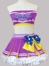 love live Paradise Live Tojo Nozomi cosplay costume custome made top+skirt+stockings+gloves(China)