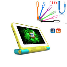 sale 7 inch A31s ips ployer Study S6 1GB/16GB Kids Tablet PC 1024*600 Quad Core Android 4.2 Dual Camera gift with gift usb Led