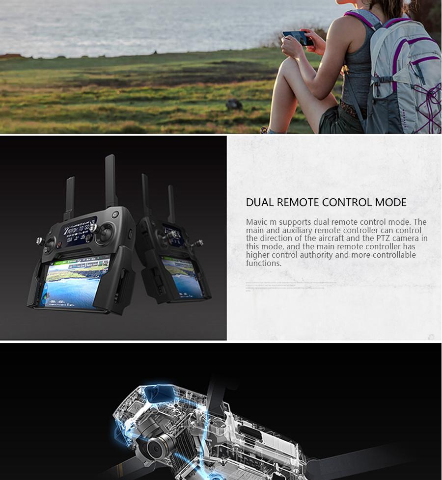 DJI Mavic Pro Platinum Fly More Combo & dji mavic pro quadcopter 12 mil. 4K HD Video Recording drone 7 KM Remote Control 30 mins_06