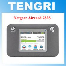 Unlocked Netgear Aircard 782S (AC782S) 4G LTE Mobile Hotspot CAT4 Wifi Router 4G LTE band 1/3/7/8 (900/ 1800/2100/2600 MHz)(China)