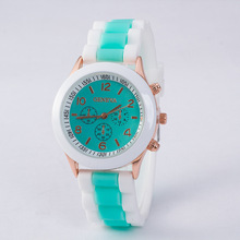 2017 hot Candy Color Silicone Watches Women Students Girls Quartz Sport Wristwatches Clock Hour Fashion Children kids watch sale