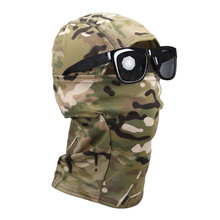 OneTigris Tactical Hood Cool Headwear Balaclavas Full Face Mask Camouflage Hunting Mask for Riding Sun Protection(China)