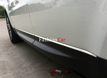 For Land Rover Range Rover Sport 2014 2015 2016 side door body molding streamer trim 6pcs(China)
