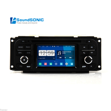 Android 4.4.4 For Jeep Wrangler Grand Cherokee Liberty Car Media DVD GPS Navigation Multimedia Android System Auto Radio Stereo(China)