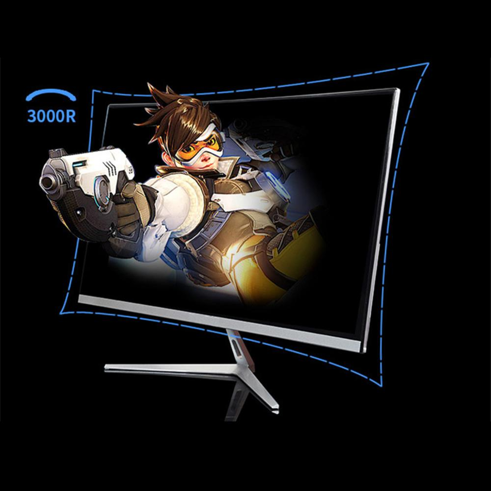 Wearson 22 inch Curved Wide Screen LCD Gaming Monitor 6.5mm Thin Thickness and 1.5mm Little Edge HDMI VGA input Flicker Free (5)