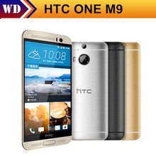 "HTC One M9 Original Unlocked GSM 3G&4G Android Quad-core RAM 3GB Mobile Phone 5.0"" WIFI GPS 20MP 32GB dropshipping"