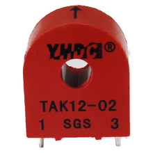 YHDC TAK12-02 20A/0.1A Mini high frequency current transformer 1:200 work voltage 660V PCB Mounted