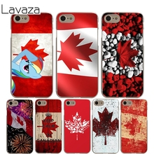 Lavaza Canada Flag Cover Case for iPhone X 10 8 7 6 6S plus Cases for Apple 5 5S 5C SE 4 4S Coque Shell