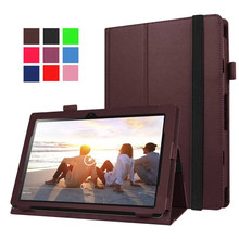 Buy Lenovo Ideapad Miix 310 Case Litchi Texture Tablet Leather Stand Shell Cover Case (Not include keyboard ) for $8.54 in AliExpress store