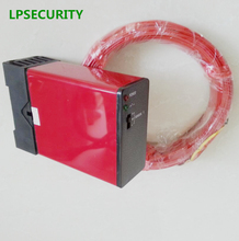 LPSECURITY 220V Loop Detector with 50M wire can operate barrier gate and control traffic light(China)