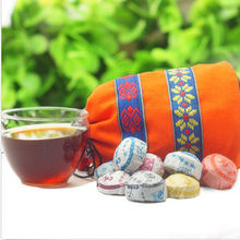 Authentic Chinese YunNanTea Flavor Pu Erh Tea Candy Sunflower seeds Beans In Bag(China)