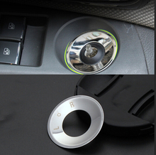 Stainless Steel rearview mirror knob decorative circle Sticker For Chevrolet Cruze Malibu AVEO Opel mokka ASTRA J Insignia Car(China)