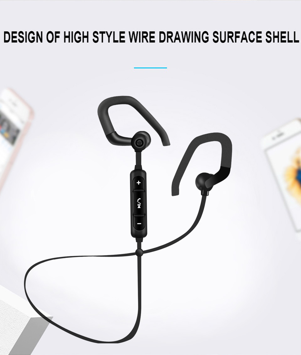 Professional B19 Earphone Bluetooth 4.2 Universial Headset Wireless Headphone with Microphone Earbuds for Earpods Airpods