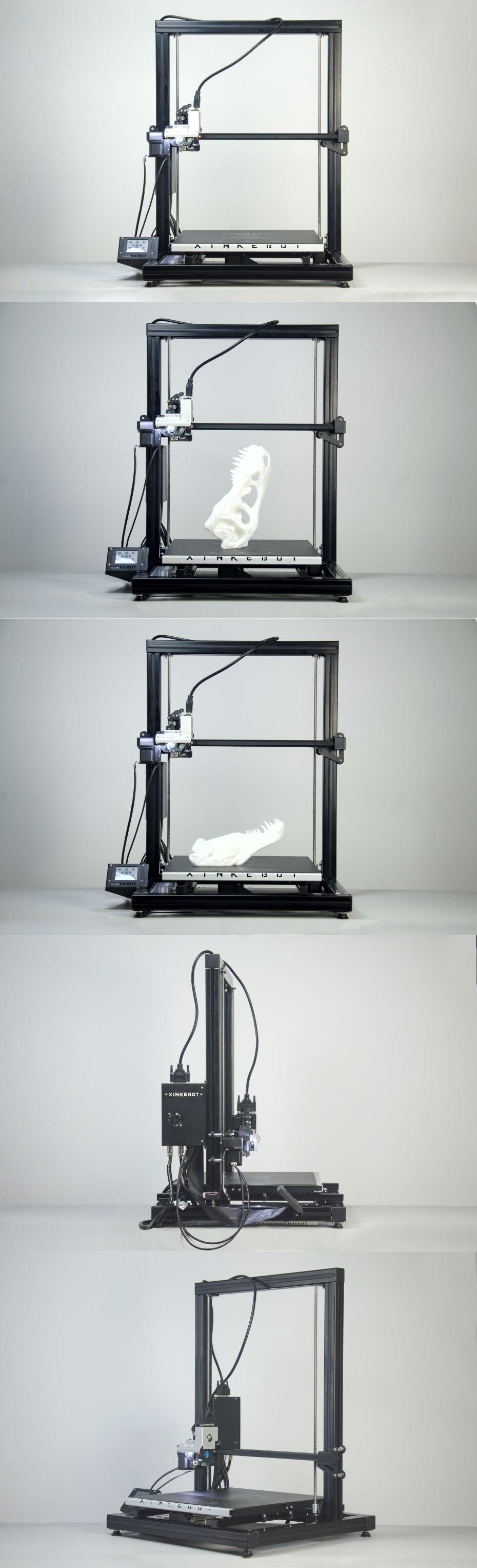 Large 3D Printer DIY Kit High Precision 3D Printer 0.05 Resolution Xinkebot Orca2 Cygnus 400*400*500 Print Size