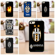 Juventus Football Clum FC fashion case cover for iphone 4 4s 5 5s se 5C se 6 6 plus 6s 6s plus 7 7 plus &*#G1704BR