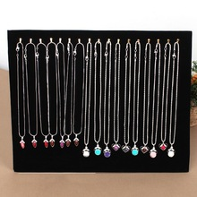 17 Hook Necklace Display Stand Women Jewelry Organizer Holder Storage Case Bracelet Display Rack #63630