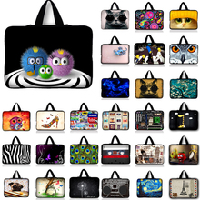10 11 12 13 14 15 17 Laptop Bag Neoprene Sleeve Netbook Case Cover For ASUS Dell HP Macbook 13.3'' 15.6'' 11.6 inch Computer #R