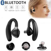 Handsfree bluetooth Ear Phone Wireless Bluetooth Business headset Earphone headphone with Microphone For Driving phone call