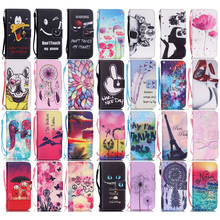 For Apple iPhone 5S Case Flip PU Leather Couple He's Mine Pink Flowers Wallet Stand Design Covers Shell & Strap For iPhone 5 SE(China)