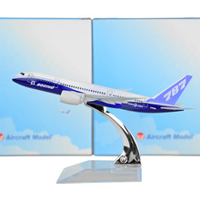 Boeing 787 Dreamliner 16cm Metal Model Prototype Backactor Airplane Models Child Gift Toys Free Shipping