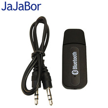 JaJaBor Bluetooth USB A2DP Adapter Dongle Blutooth Music Audio Receiver Wireless Stereo Speaker 3.5mm For Car Home Stereo System