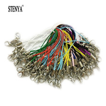 Stenya Lobster Clasp Jump Rings Mobile Case Strap Lariat Lanyard Keychain Key Ring String Charms Jewelry Findings Connector(China)
