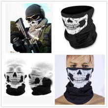 C.gree 25*48cm Skull Bandana Neck Face Mask Headscarf Tubular Multifunctional Scarf Seamless Bandanas Turban Headband Unisex(China)
