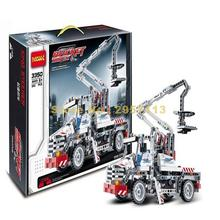 Decool 3350 Work Site Construction Auto Technic Crane Truck Building Block Compatible 8071