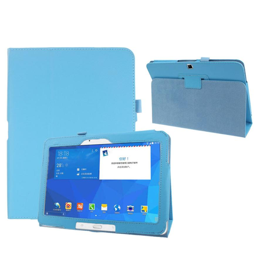 #20 Folio PU Leather Case Cover For Samsung Galaxy Tab 4 10.1 SM-T530 Tablet jn12<br><br>Aliexpress
