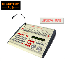 TIPTOP Moon 512 Stage Light Controller DMX LED Lighting Controller DJ Band Stage Light Show 512 Channels 2 Modulation wheels(China)