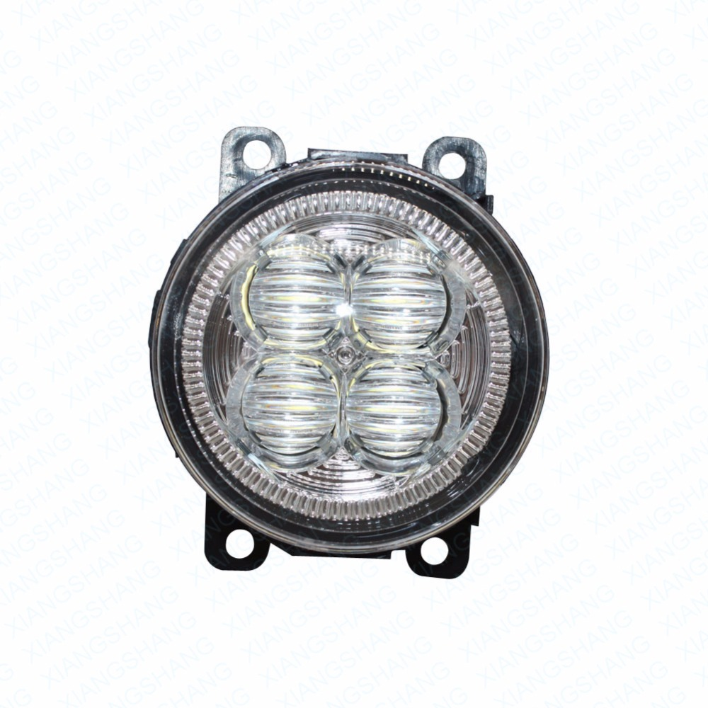 LED Front Fog Lights For Renault MEGANE 3 Grandtour KZ0 KZ1 Estate Car Styling Bumper High Brightness DRL Driving fog lamps 1set<br>