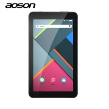 New 7 inch Tablets PC Aoson M751 Android 5.1 PCs Tablets 1G 8G Quad Core IPS Screen 1024*600 Bluetooth Dual Cameras OTG FM WiFi