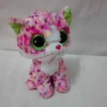 TY BEANIE BOOS 1PC 15CM Sophie pink cat BIG EYES Plush Toys Stuffed animals soft toys nano dolls home desk car decorations