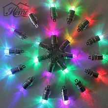 10pcs LED Mini Party  Screw Thread  Balloons Floral Mini Led Lights For Home Party Wedding Centerpiece Threaded Night Club Bar