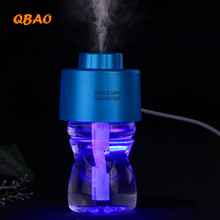 Ultrasonic Humidifier Mist Maker Bottle Mini USB 4 Colors 5V Essential Diffusor Air Purifier Nebulizer Aromatherapy Diffuser