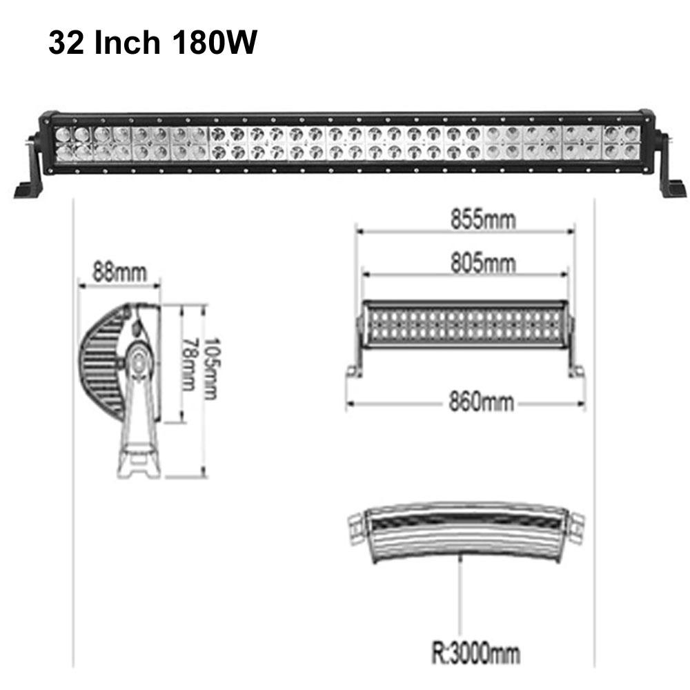 180w size