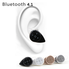 Original  Mini Bluetooth Headset 4.1 Bluetooth Headphones  Handsfree Noise reduction earphone Support music For mobile phones