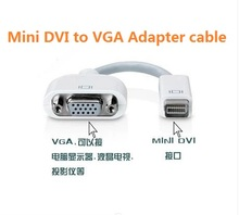 50PCS Mini DVI to VGA Adapter Cable for NoteBook iMac Mac Mini MacBook PowerBook 12inch(China)