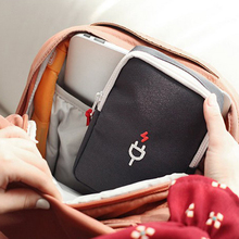 Brand new Portable accessories Traveling with storage bags Storage bags for various USB cables Mobile power storage bags(China)