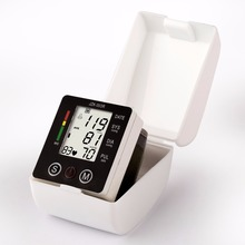 Health Care new tensiometro digital Blood Pressure Monitor Wrist tonometer Automatic Sphygmomanometer BP Blood Pressure Meter