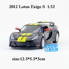 Top Quality 1:32 5 Inch Lotus Exige S Sports Car Alloy Simulation Model Toy Car With Pull Back For Boy Kids