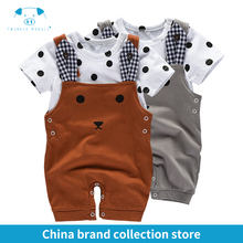 baby clothes summer newborn boy girl clothes set baby fashion baby brand products infant clothing set clothing bebe MD170X034(China)
