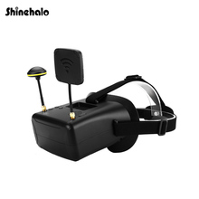 High Quality VR008 5.8G 40CH HD FPV Goggles 4.3 Inch Video Headset Adjustable 120 degree wide Angle For FPV Model